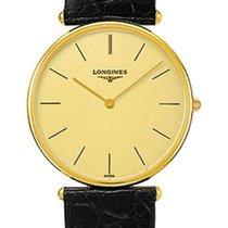 Longines La Grande Classique 18K Solid Gold Mens Strap Watch...