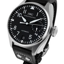 IWC 500401 Big Pilot 5004 Mens Automatic in Steel - On Black...