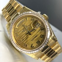 Rolex - Day Date 118398BR Diamond Bezel Y/G