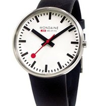 Mondaine Giant Sized Classic - Polished Stainless - 42mm Case...