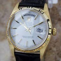 Rolex Mens Rare President 1803 Swiss Made 18k Gold Automatic...