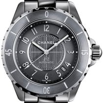 Chanel --- J12 38mm Automatic Grey Ceramic Ref. H2979