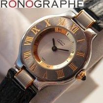 Cartier Must 21 Dames Quartz boitier or et acier 2004