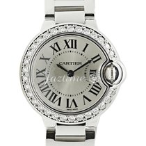 Cartier WE9003Z3 BALLON BLUE DE 28mm WHITE GOLD 2017