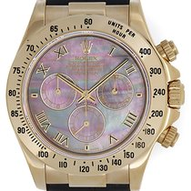 Rolex Cosmograph Daytona Men's 18k Yellow Gold Watch...
