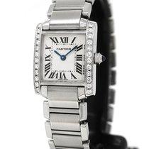 Cartier Tank Francaise 2384, Custom Diamond Setting