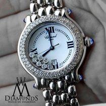 Chopard Ladies Chopard Happy Sport Stainless Steel Watch...