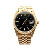 Rolex 18K Yellow Gold Rolex Datejust Watch 16018
