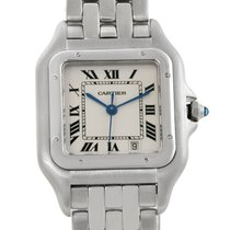 Cartier Panthere Stainless Steel Large Watch W25054p5