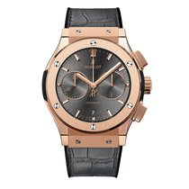 Hublot Classic Fusion 45mm Chronograph Mens Watch Ref 521.OX.7...
