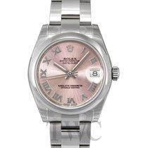 Rolex Datejust Pink Dial Midsize Oyster Bracelet - 178240