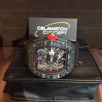 Richard Mille RM022 Tourbillon Aerodyne Dual Time Black Carbon...