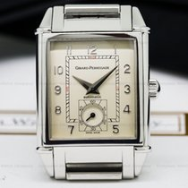 Girard Perregaux 2593 Vintage 1945 Silver Dial SS (25548)