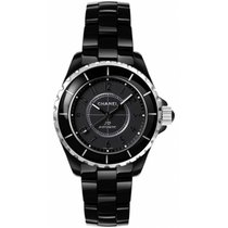 Chanel J12 Black Classic Intense Black