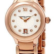 Frederique Constant Classics Delight Rose Gold Steel Womens...