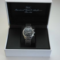 IWC Pilot chronograph (with stainless steel bracelet)