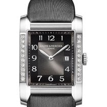 Baume & Mercier Hampton Classic in Steel with Partial...