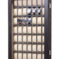 Rothenschild Uhrenvitrine [49] RS-5075-BK zur Wandmontage
