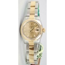 Rolex Datejust 179163 Lady's Steel & 18K Yellow Gold...
