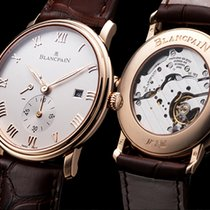 Blancpain [NEW]Villeret Small Seconds Date & PWR Reserve...