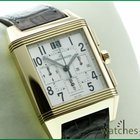 Jaeger-LeCoultre Pink Gold Squadra Reverso GMT Chronograph