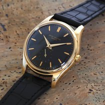 Patek Philippe ref. 2526 Black Enamel, Retailed by Gobbi...
