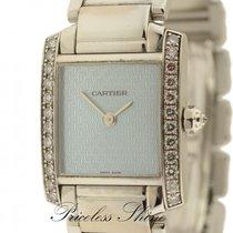 Cartier Tank Francaise 18k White Gold Boutique Ladies W/origin...