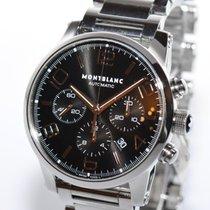 Montblanc Timewalker Meisterstück 7141 Stahl Uhr