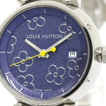 Louis Vuitton Polished Louis Vuitton Tambour Lovely Steel...