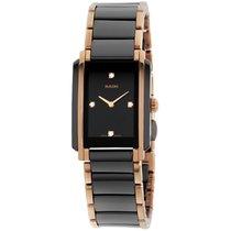 Rado Integral Jubile Ceramic Black Dial Watch R20612712
