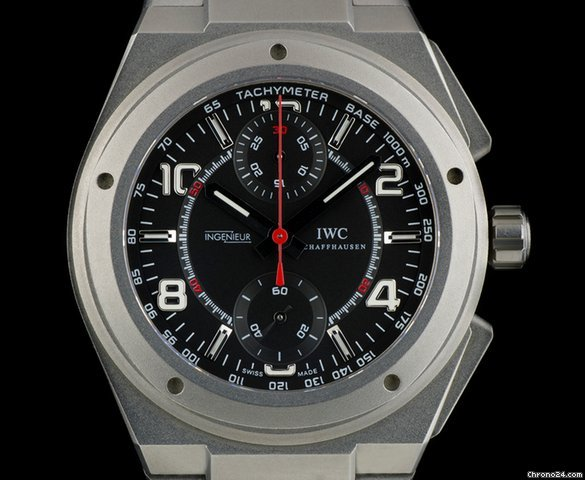 iwc titanium special edtn ingenieur chrono amg for mercedes for 5 307 for sale from a. Black Bedroom Furniture Sets. Home Design Ideas
