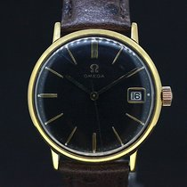 Omega Handaufzug Black Dial cal.611 Anno 1966