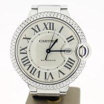 Cartier Ballon Bleu Big Size Steel (B&P2013) 42mm Afterset...
