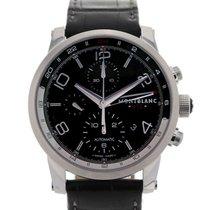 Montblanc Timewalker 43 Black Dial Chronograph UTC