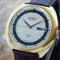 Seiko 7006 8029 Rare Vintage 1970s Gold Plated Japanese...
