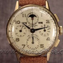 Universal Genève Tri-compax Gold-filled 36,5mm Chronograph...