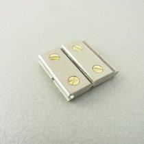 Cartier Santos Lady Ersatzglied Doppel Stahl/gold 13.5 Mm...