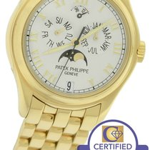Patek Philippe Annual Calendar 18K Yellow Gold 37mm 5036/1J-00...