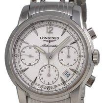 Longines Saint-Imier Automatic Chronograph Steel Mens Watch...