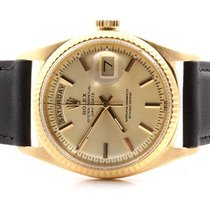 Rolex Mens 18K Yellow Gold Day-Date President - Champagne Dial...
