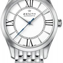 Zenith Elite Ultra Thin Lady Stainless Steel 33mm Watch with...