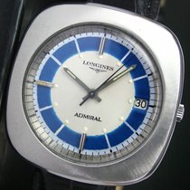 Longines Admiral Automatic Date Steel Mens Watch