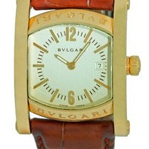 "Bulgari Gent's 18K Yellow Gold  ""Assioma"" Strapwatch."