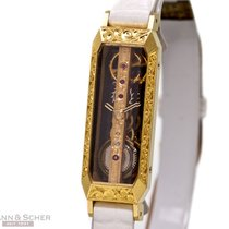 Corum Lady Golden Bridge Ref-13101 18k Yellow Gold