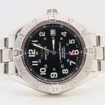 Breitling Superocean Steel 42mm Black Dial Ref. A17340