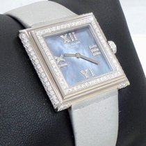 Patek Philippe Gondolo 18k W Gold Factory Diamonds Mop Dial...