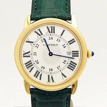 Cartier Ronde Solo 18k Yellow Gold Quartz W6700455 36mm