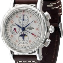 Zeno-Watch Basel ZENO Nostalgia Chronograph Automatik Vollkale...