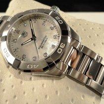 TAG Heuer Ungetragene Aquaracer 300M Diamantversion 32mm