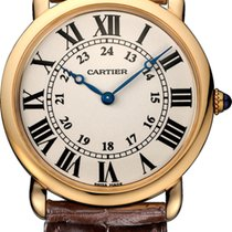 Cartier RONDE LOUIS CARTIER  W6800251 NEW  36MM PINK GOLD 18ct M